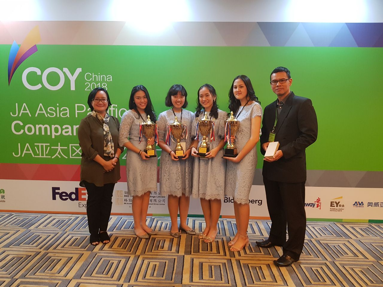 Pelajar Banten Sabet Juara 1 Kompetisi Asia Pacific Company of The Year Competition 2018
